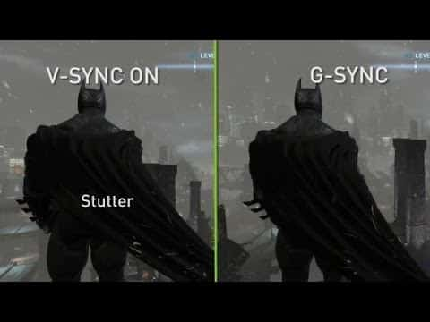 G-Sync And V-Sync comparison image