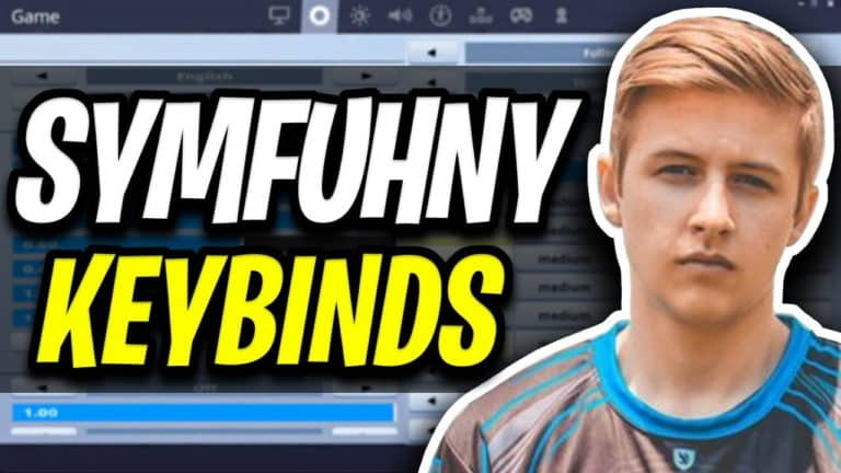 syfuhny fortnite settings and keybinds
