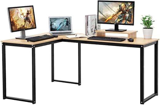 ZCH L Shaped Gaming Desk
