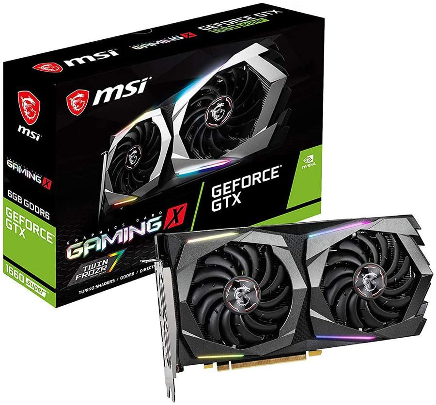 MSI Gaming X NVIDIA Geforce GTX 1660 Super